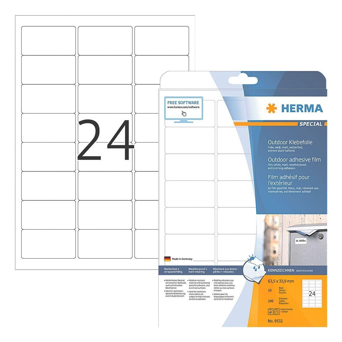 HERMA Outdoor Folien-Etiketten »9532«