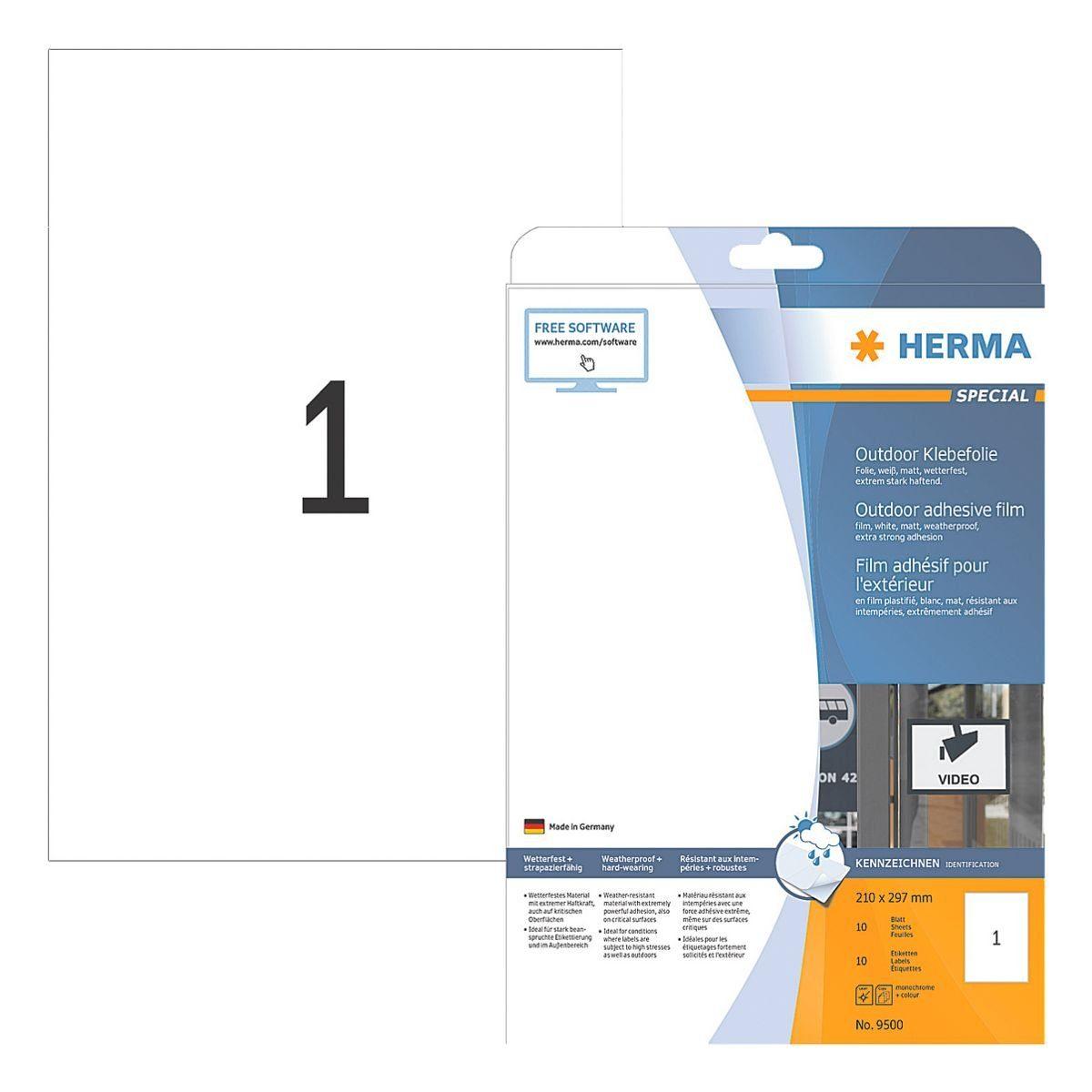 HERMA Outdoor Folien-Etiketten »9500«