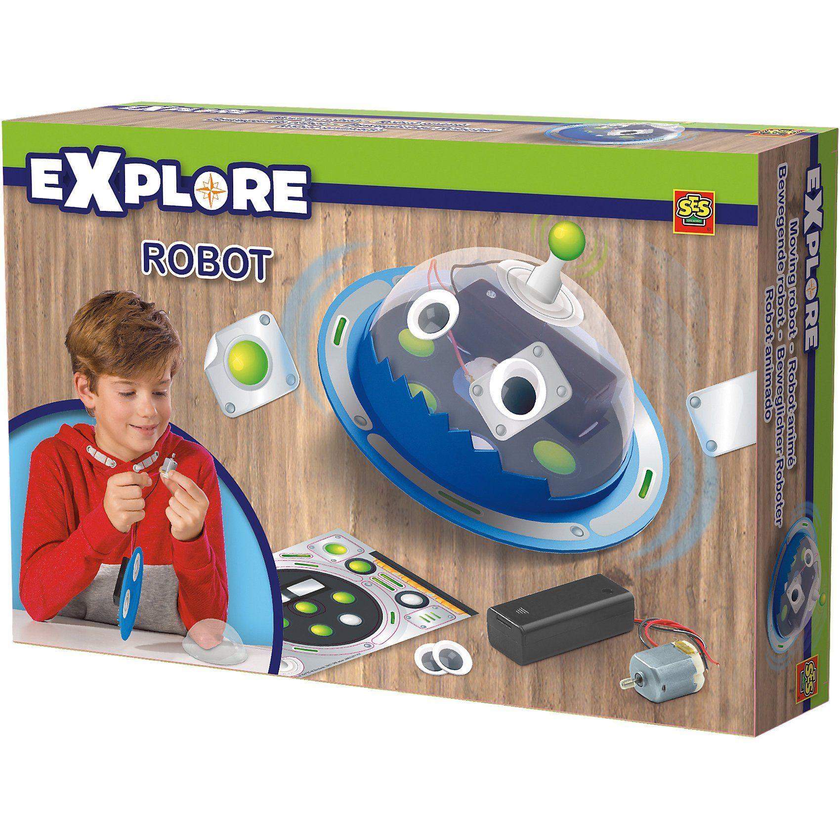 SES Creative Explore Beweglicher Roboter