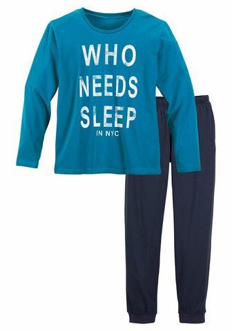 Pižama »mit witzigem Spruch«