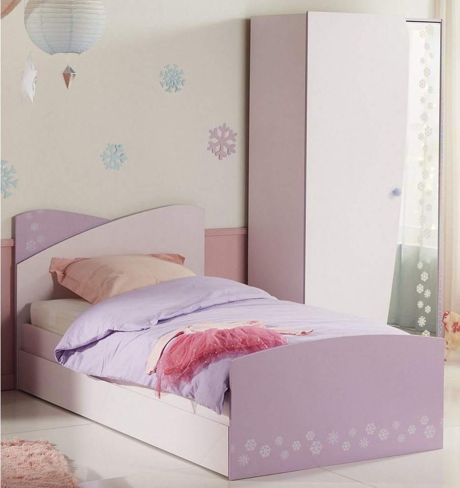 parisot bett inl schubkasten cristal kaufen otto. Black Bedroom Furniture Sets. Home Design Ideas