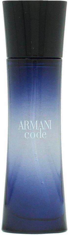giorgio armani code femme eau de parfum kaufen otto. Black Bedroom Furniture Sets. Home Design Ideas