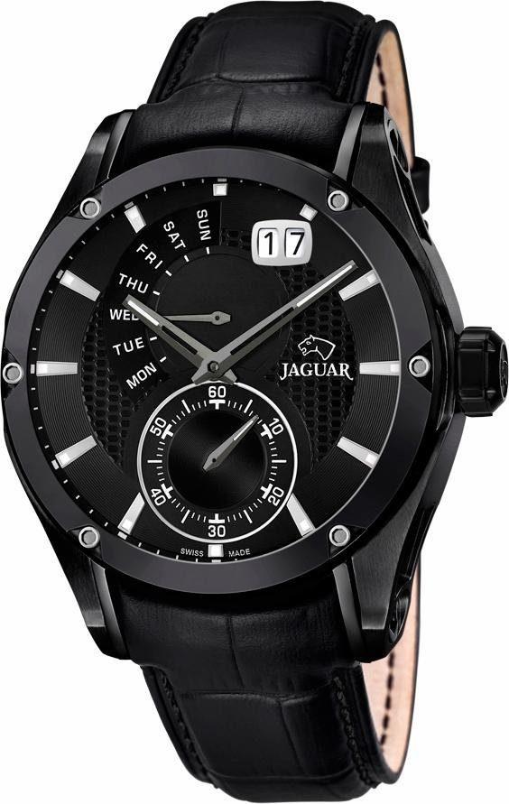 Jaguar Multifunktionsuhr »Special Edition Swiss Made, J681/A«, mit dezentraler Sekunde