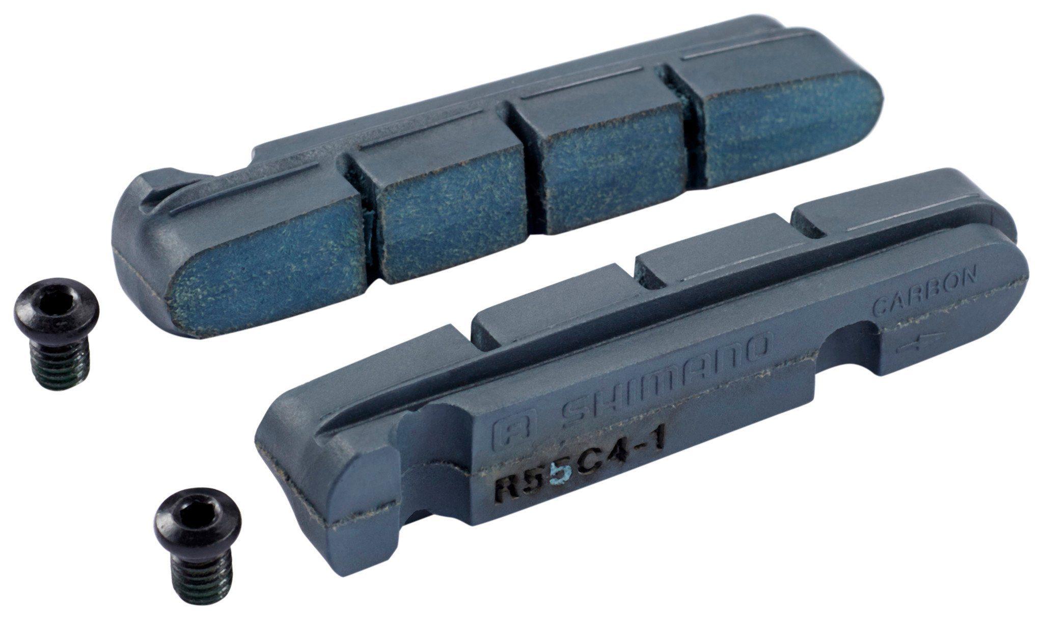 Shimano Bremsbelag »R55C4-1 Cartridge Bremsschuhe für Carbon Felgen«