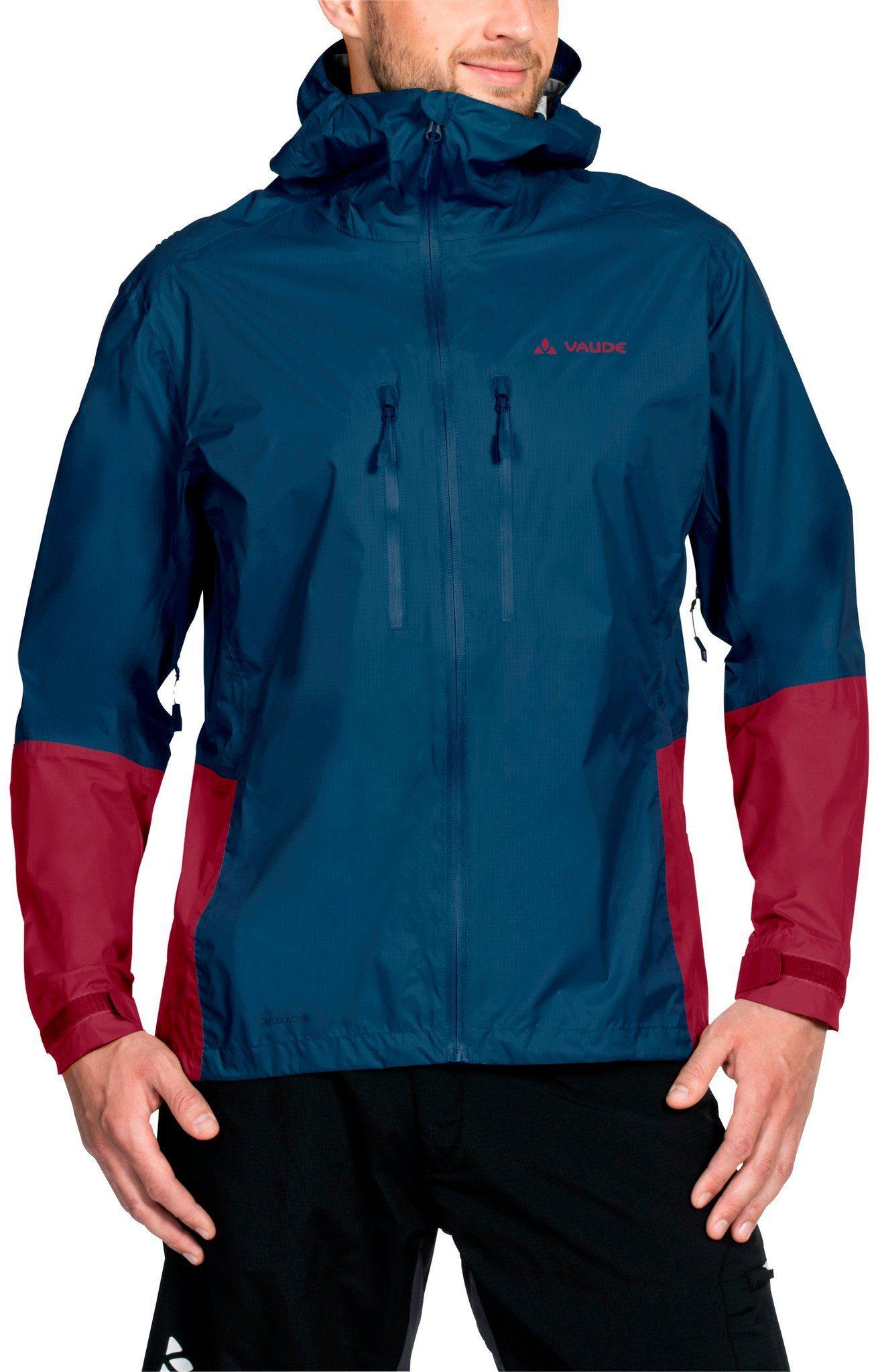 VAUDE Radjacke »Tremalzo II Rain Jacket Men«