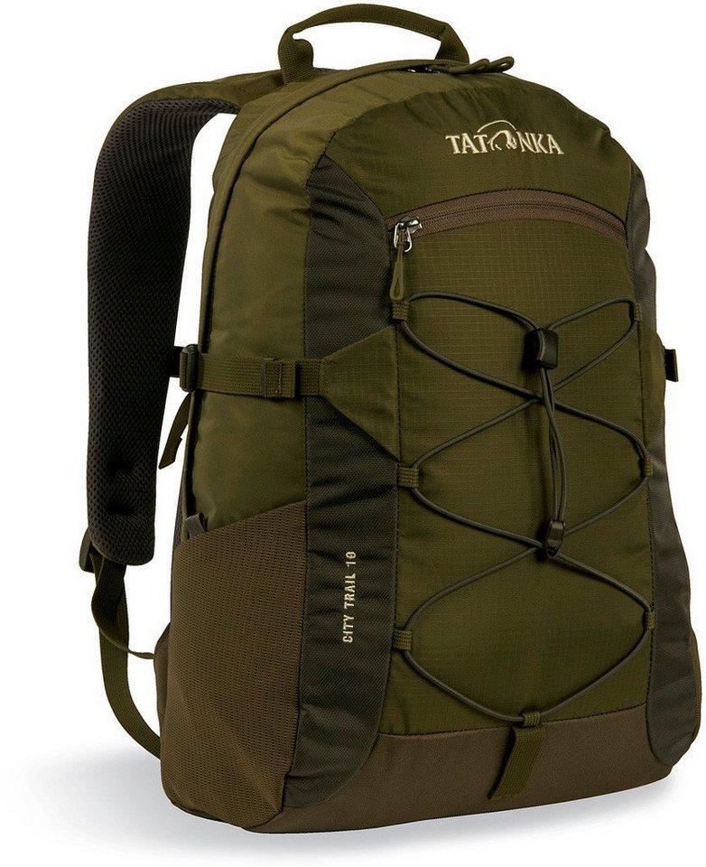 TATONKA® Wanderrucksack »City Trail 19 Backpack« | Taschen > Rucksäcke | Grün | TATONKA®