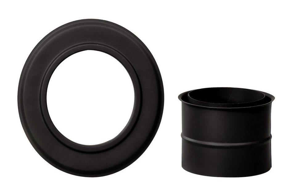 thermia rohr set rosette und doppelwandfutter 150 mm online kaufen otto. Black Bedroom Furniture Sets. Home Design Ideas