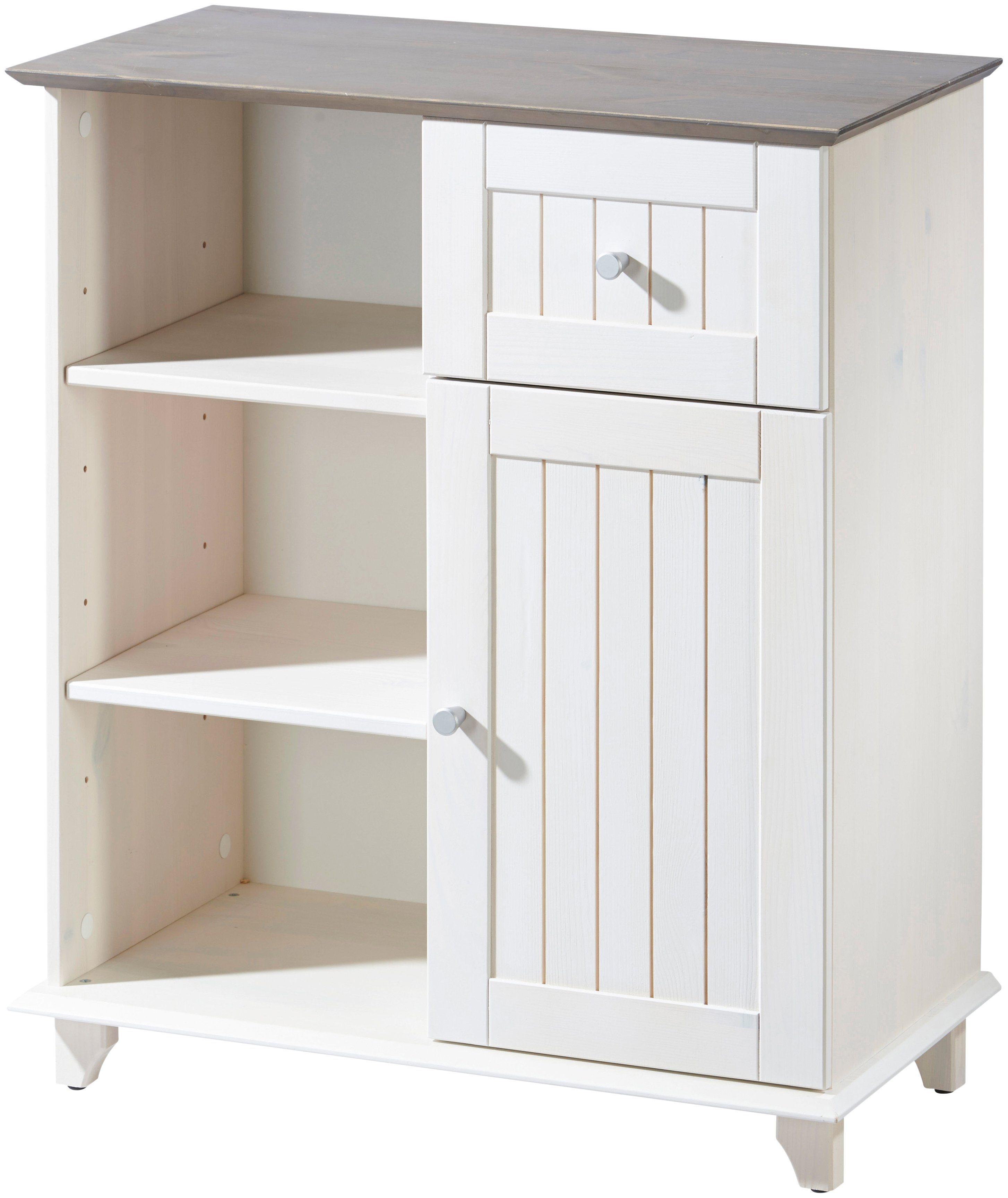 Küchen unterschrank landhaus  farbig-massivholz Küchen-Unterschränke online kaufen | Möbel ...