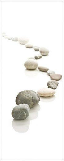 MySpotti Spritzschutz »fresh F1 Stone Path«, 100 x 255 cm