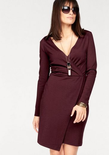 Boysens Wrap Dress With Asymmetric Hem