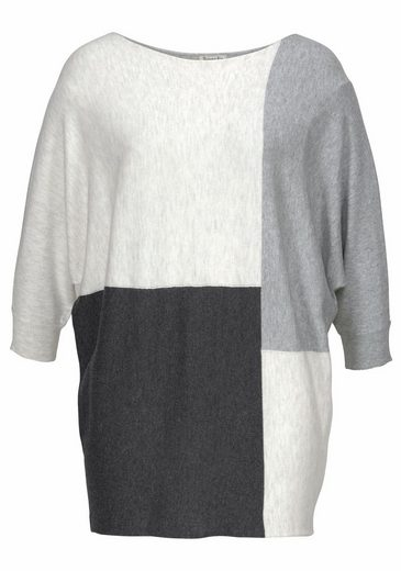 Boysens Fledermauspullover, In Colorblocking Und Oversize-form