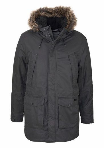 Craghoppers Winterjacke ARGYLE PARKA, mit besonders vielen Taschen