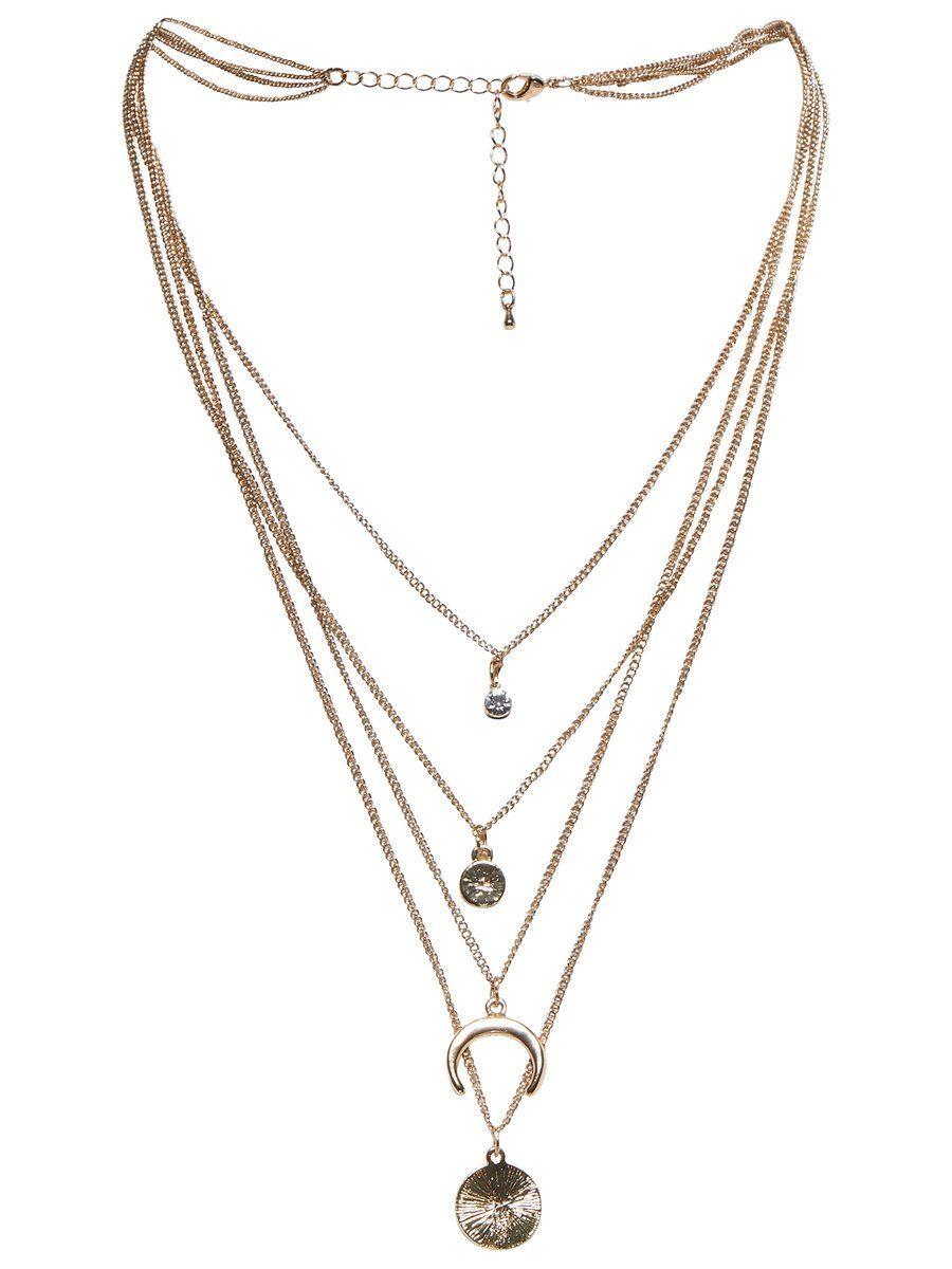 Only Detailreiche Halskette