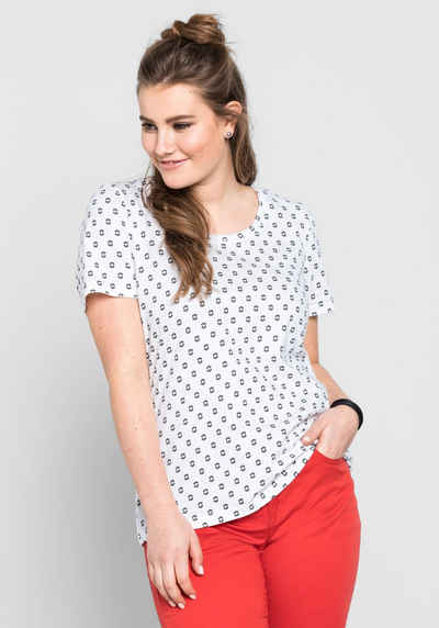 sheego Casual T-Shirt Sale Angebote Terpe