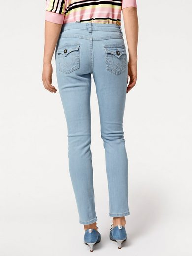 Rick Cardona By Heine Jeans With Contrast Stitching