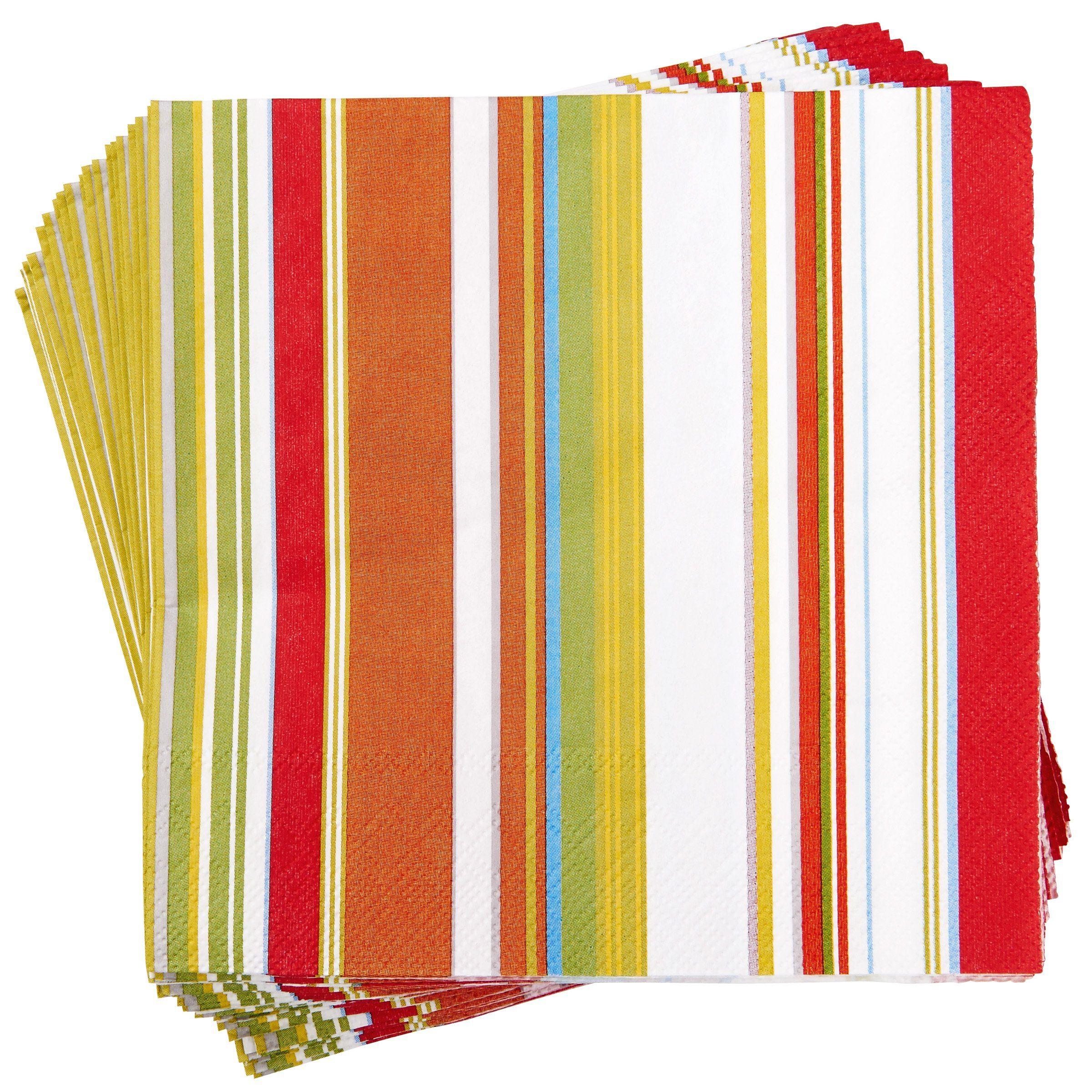 BUTLERS APRÈS »Papierserviette Streifen«