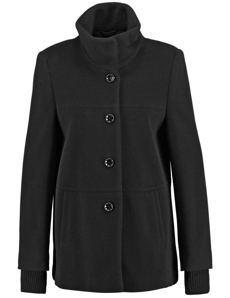 gerry weber outdoorjacke wolle jacke mit a shape otto. Black Bedroom Furniture Sets. Home Design Ideas