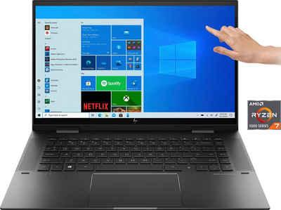 HP ENVY x360 Convert 15-eu0278ng Convertible Notebook (39,6 cm/15,6 Zoll, AMD Ryzen 7, Radeon™, 512 GB SSD)
