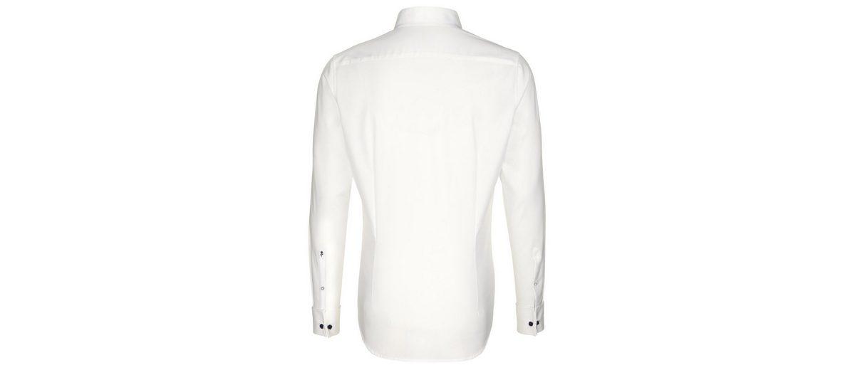 seidensticker Businesshemd Tailored, Kläppchen-Kragen