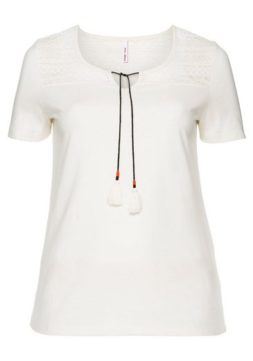 sheeGOTit T-Shirt, mit Bindebändern