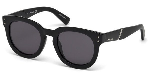Diesel Damen Sonnenbrille » DL0230«, schwarz, 01A - schwarz/grau
