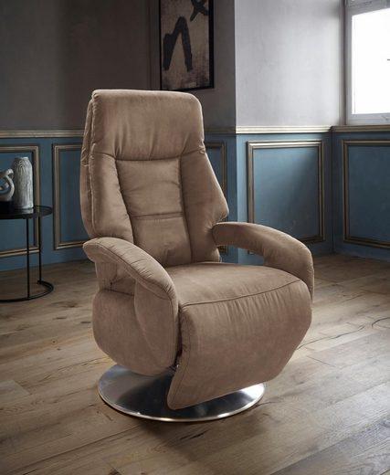 Places of Style TV-Sessel »Launceston«, in Größe M, wahlweise mit Motor und Aufstehhilfe