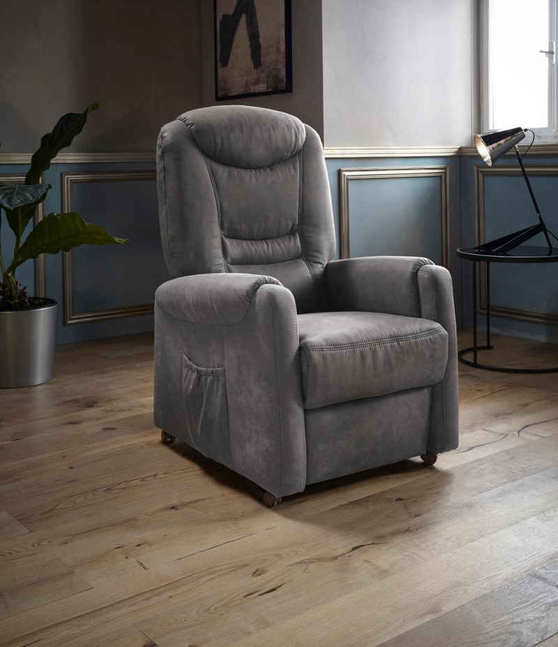 Places of Style TV-Sessel »Tamworth«, in Größe L, wahlweise mit Motor und Aufstehhilfe