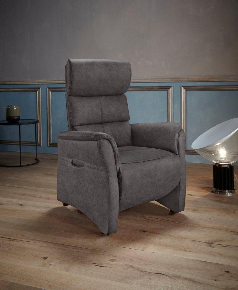 places of style tv sessel mit kopfteilverstellung. Black Bedroom Furniture Sets. Home Design Ideas