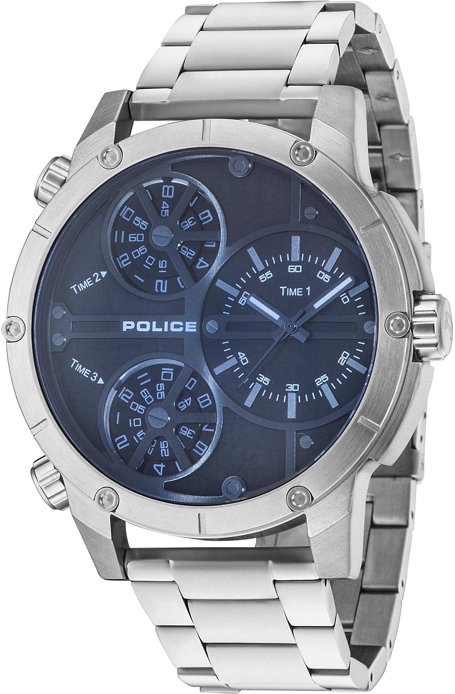 Police Multifunktionsuhr »RATTLESNAKE, PL14699JS.02M«