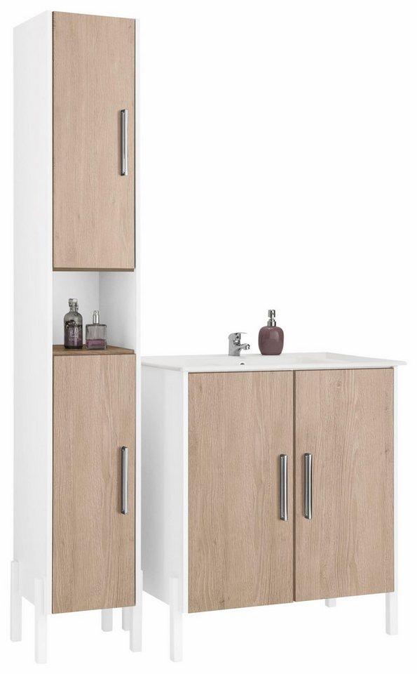 Badezimmermöbel wien  OPTIFIT Badmöbel-Set »Wien« (4-tlg.) online kaufen | OTTO