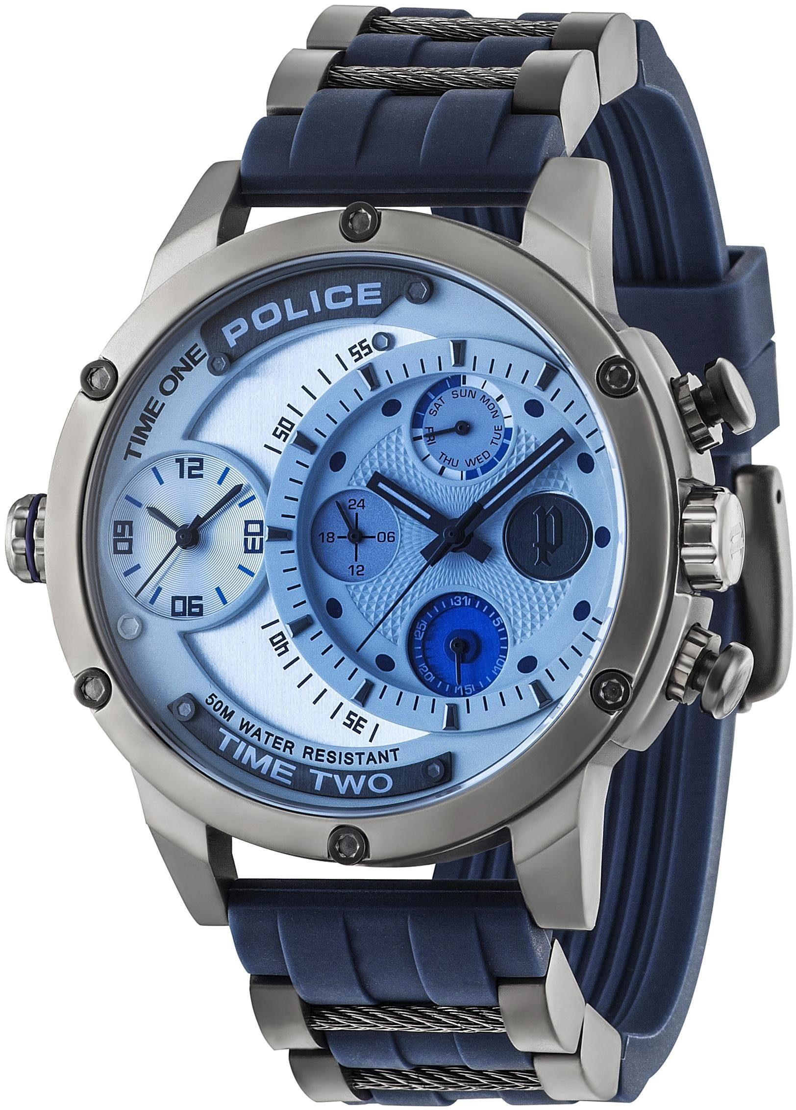 Police Multifunktionsuhr »ADDER, PL14536JSU.04P«
