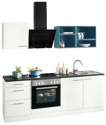OPTIFIT Küchenzeile »Mini«, mit E-Geräten, Breite 210 cm