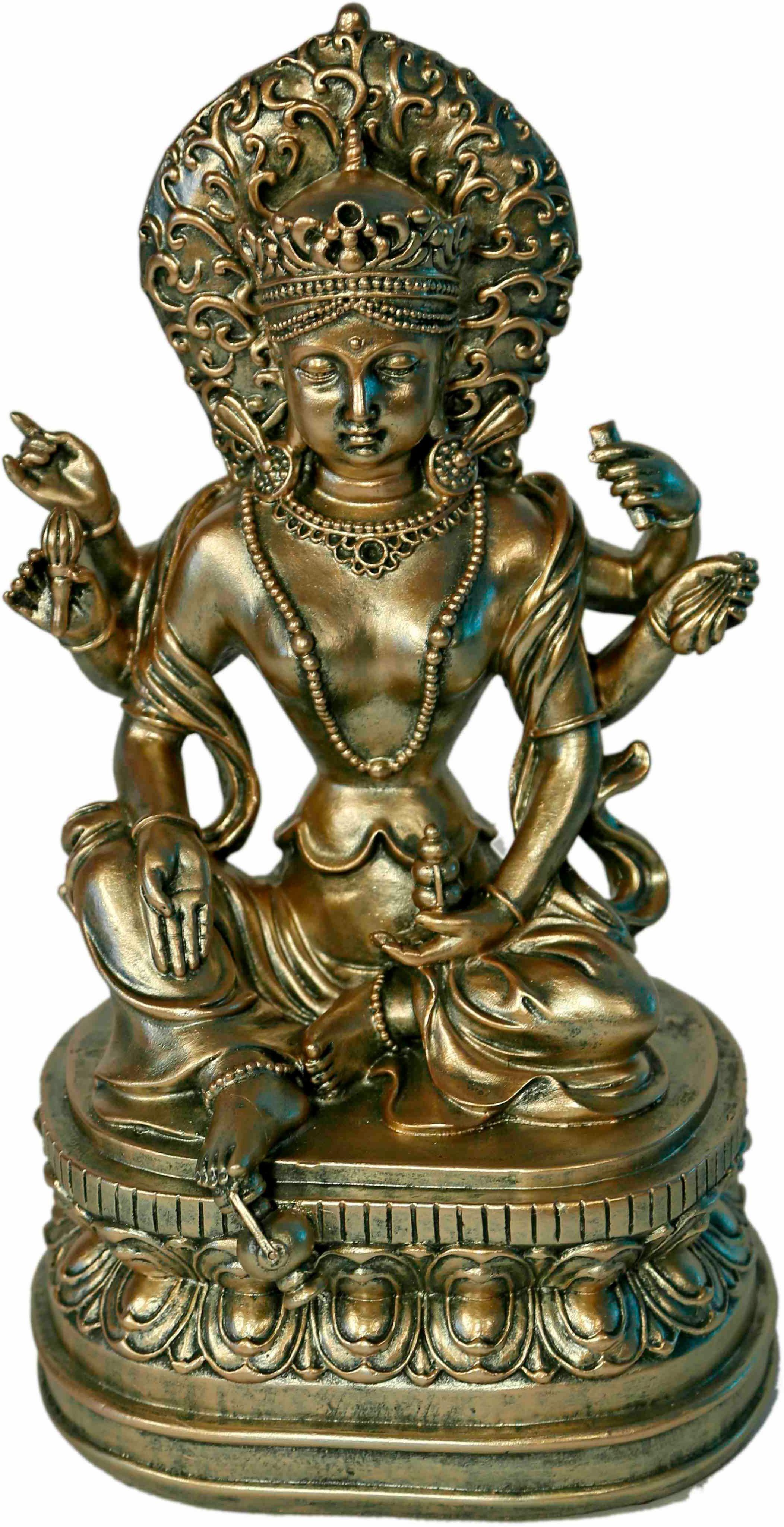 Home affaire Dekofigur »Buddha auf Podest«