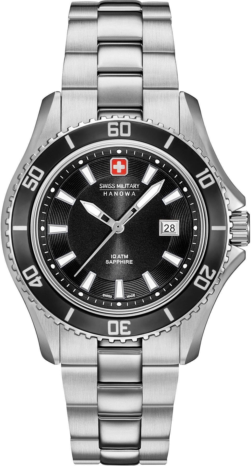 Swiss Military Hanowa Schweizer Uhr »NAUTILA LADY, 6-7296.04.007«