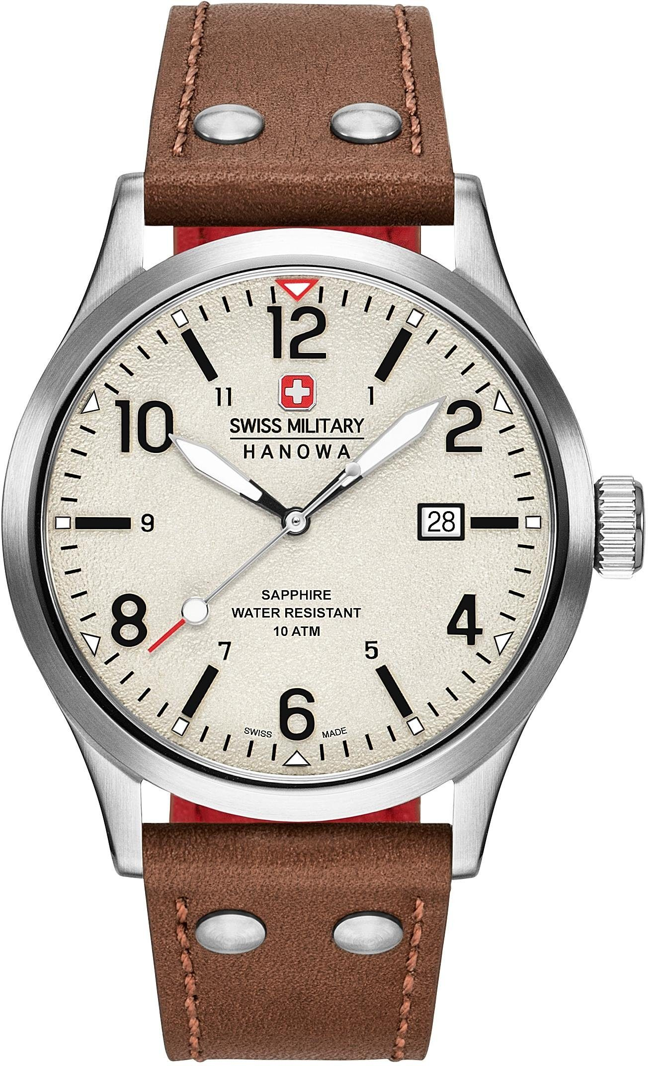 Swiss Military Hanowa Schweizer Uhr »UNDERCOVER, 6-4280.04.002.05CH«