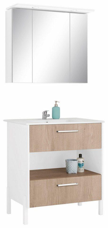 Badezimmermöbel wien  OPTIFIT Badmöbel-Set »Wien« (3-tlg.) online kaufen | OTTO