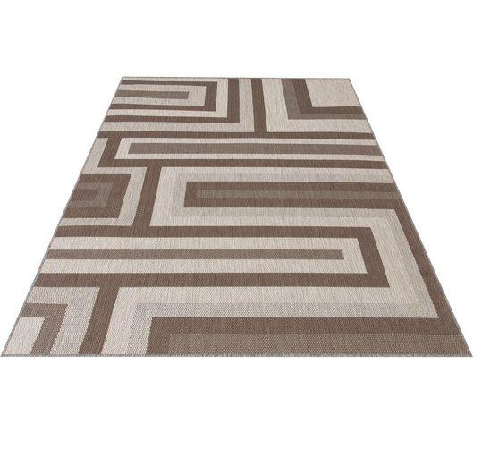 Teppich »Malibu«, Bruno Banani, rechteckig, Höhe 3 mm, In- und Outdoor geeignet, Sisaloptik