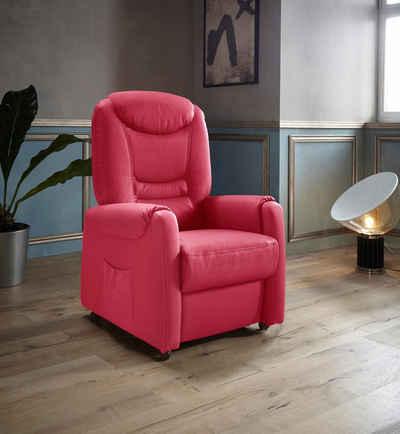 Places of Style TV-Sessel »Tamworth«, in Größe M, wahlweise mit Motor und Aufstehhilfe