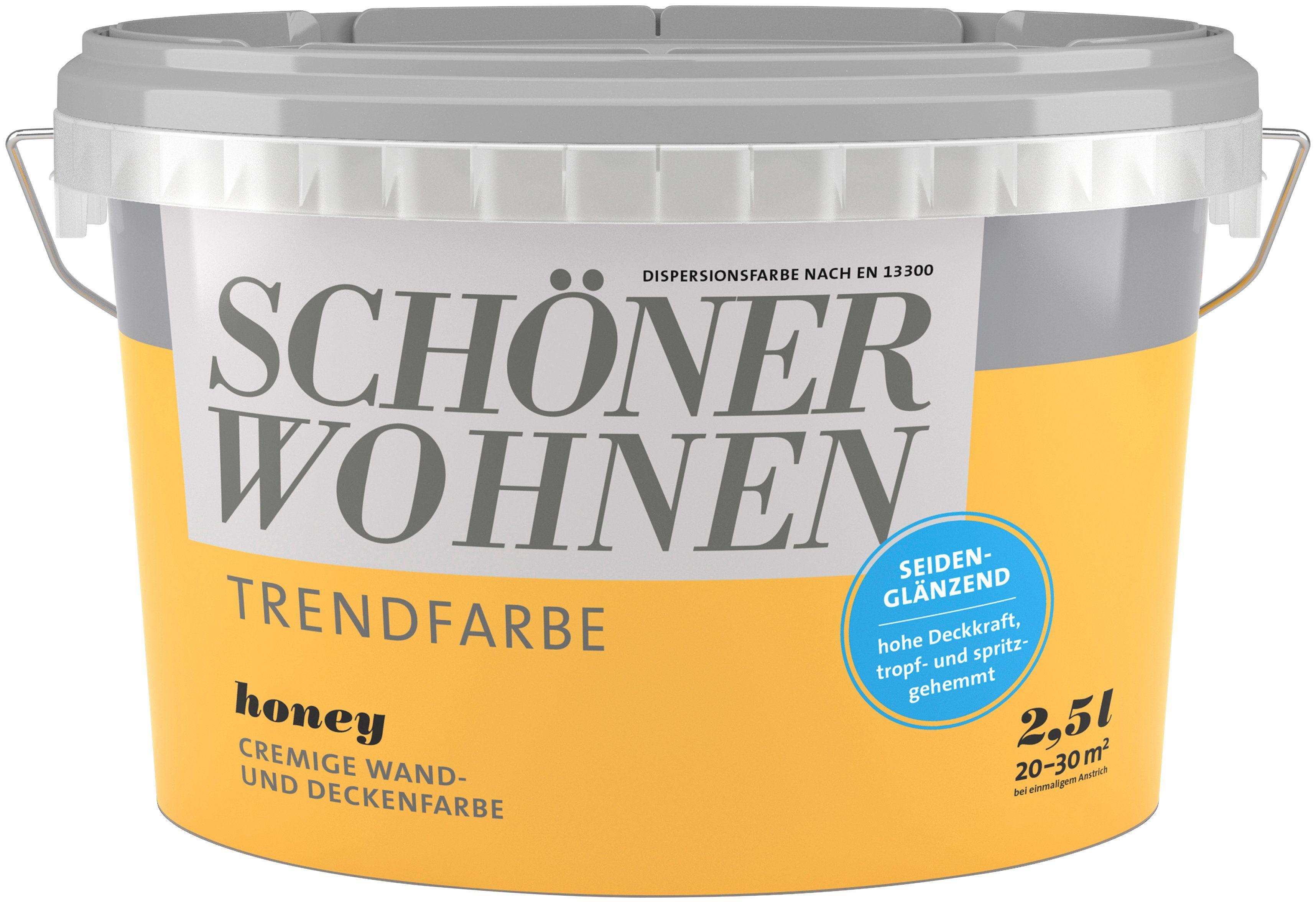 Schöner Wohnen Farbe Trendfarbe »honey«, seidenglänzend