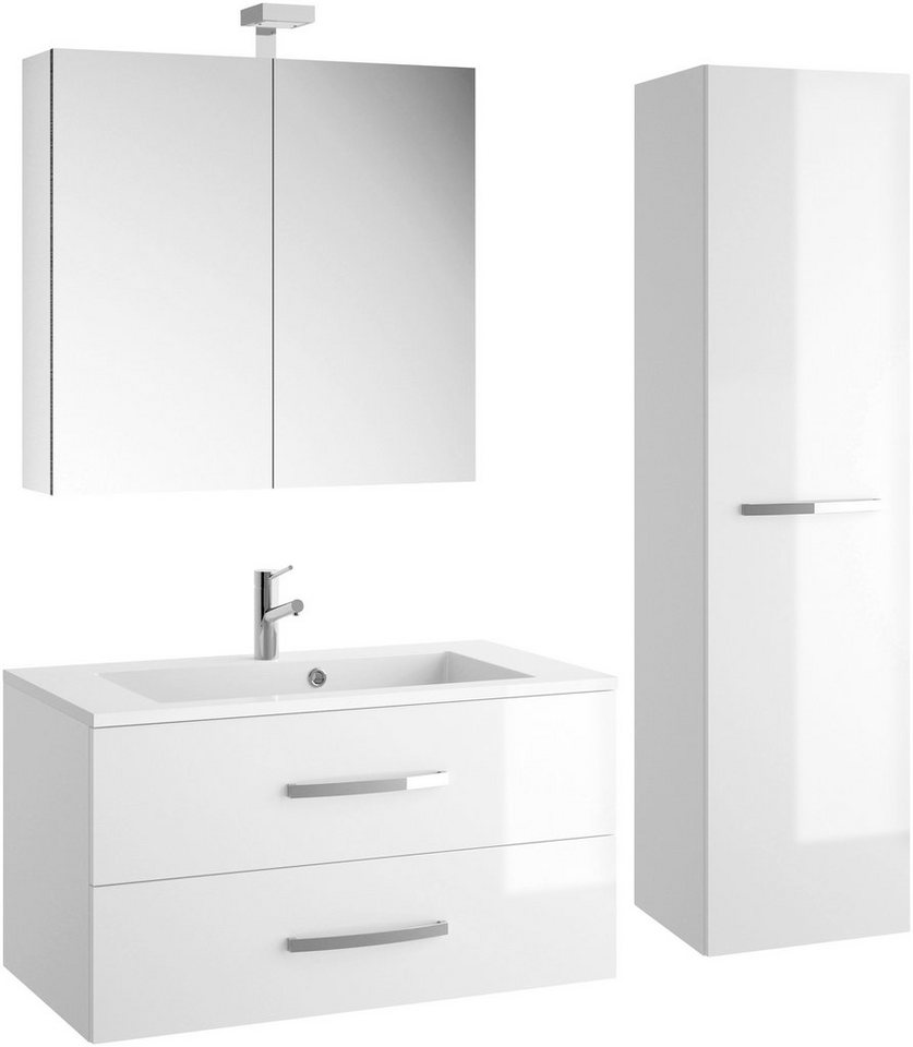 allibert badm bel set adept gesamtbreite 130 cm 4 tlg online kaufen otto. Black Bedroom Furniture Sets. Home Design Ideas