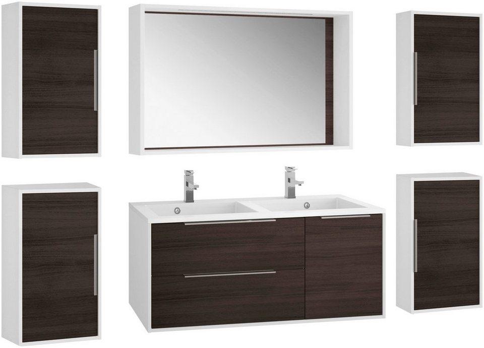 allibert badm bel set edge gesamtbreite 260 cm 7 tlg online kaufen otto. Black Bedroom Furniture Sets. Home Design Ideas