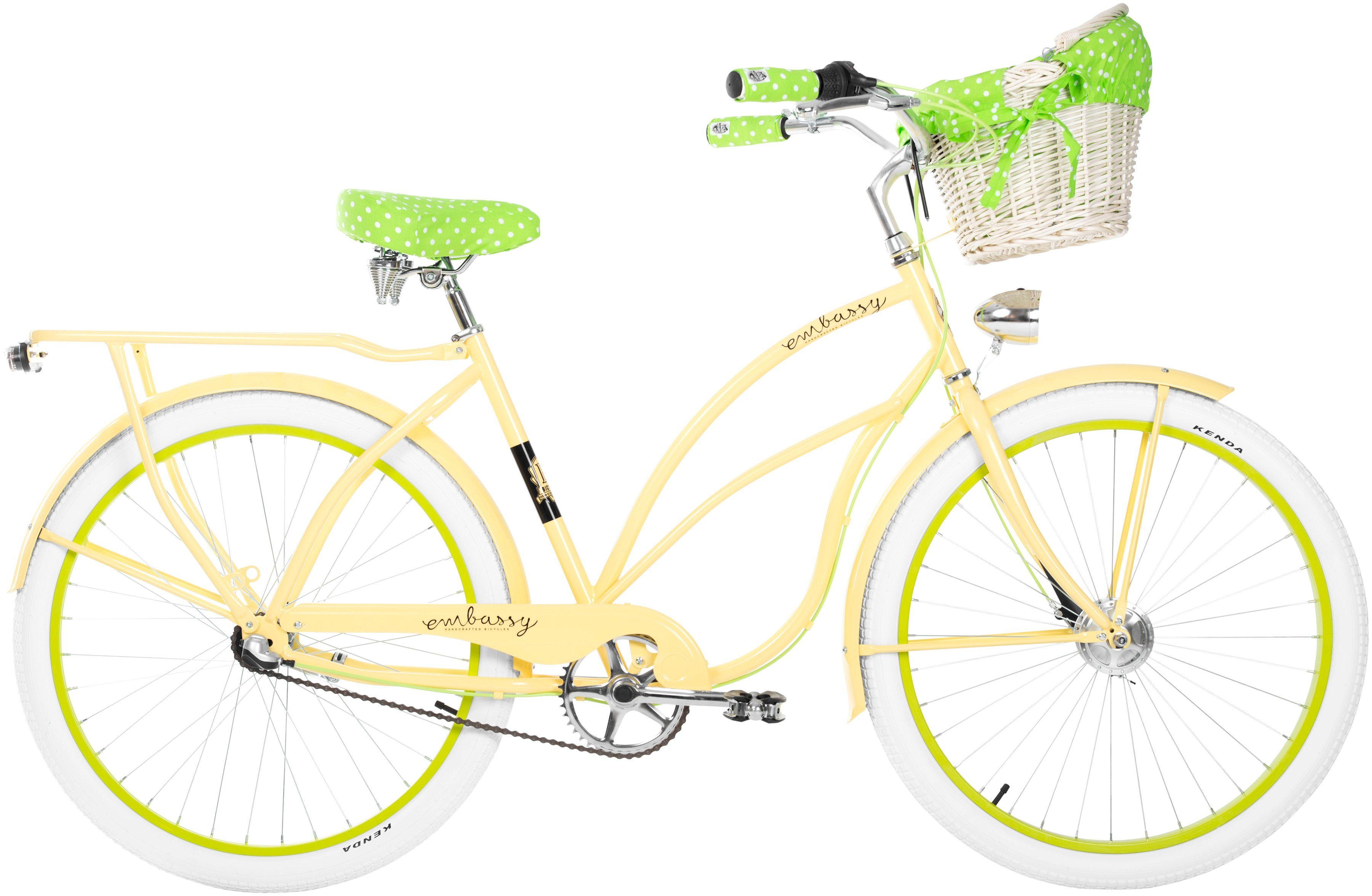 Cruiser-Bike »Lemon Grove «, 26 Zoll, 3 Gang, Rücktrittbremse