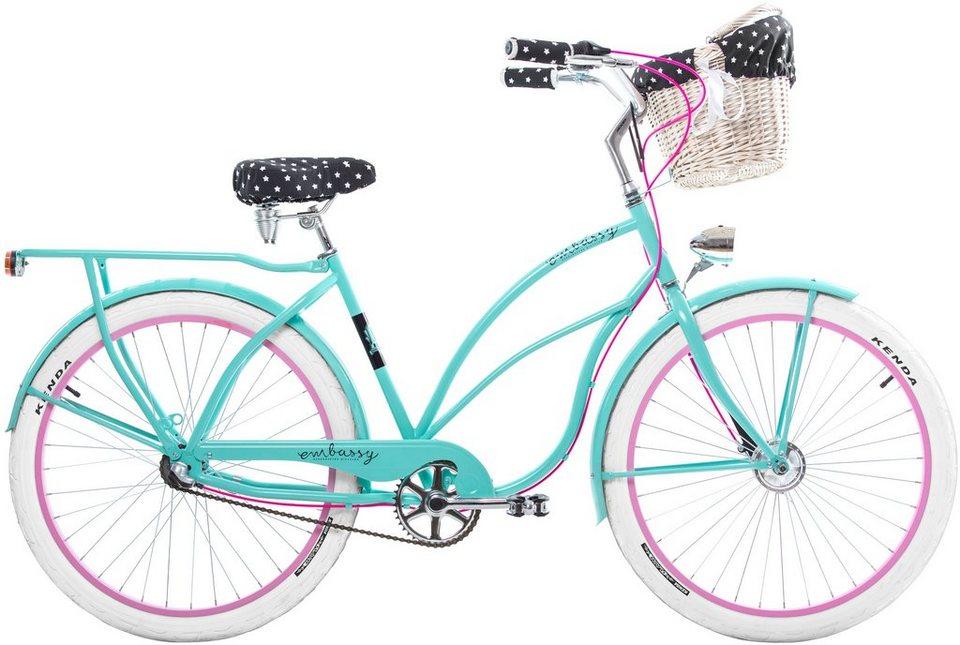 cruiser bike aloha 26 zoll 3 gang r cktrittbremse online kaufen otto. Black Bedroom Furniture Sets. Home Design Ideas