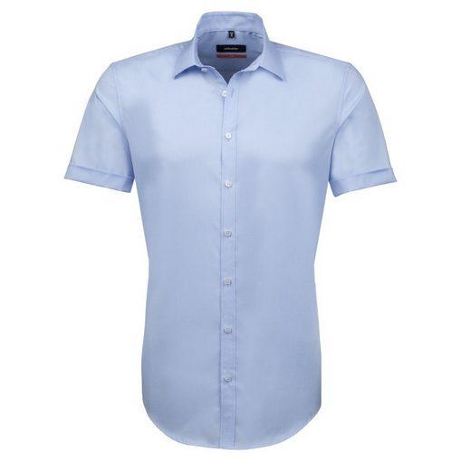 seidensticker Businesshemd Slim, Kent-Kragen