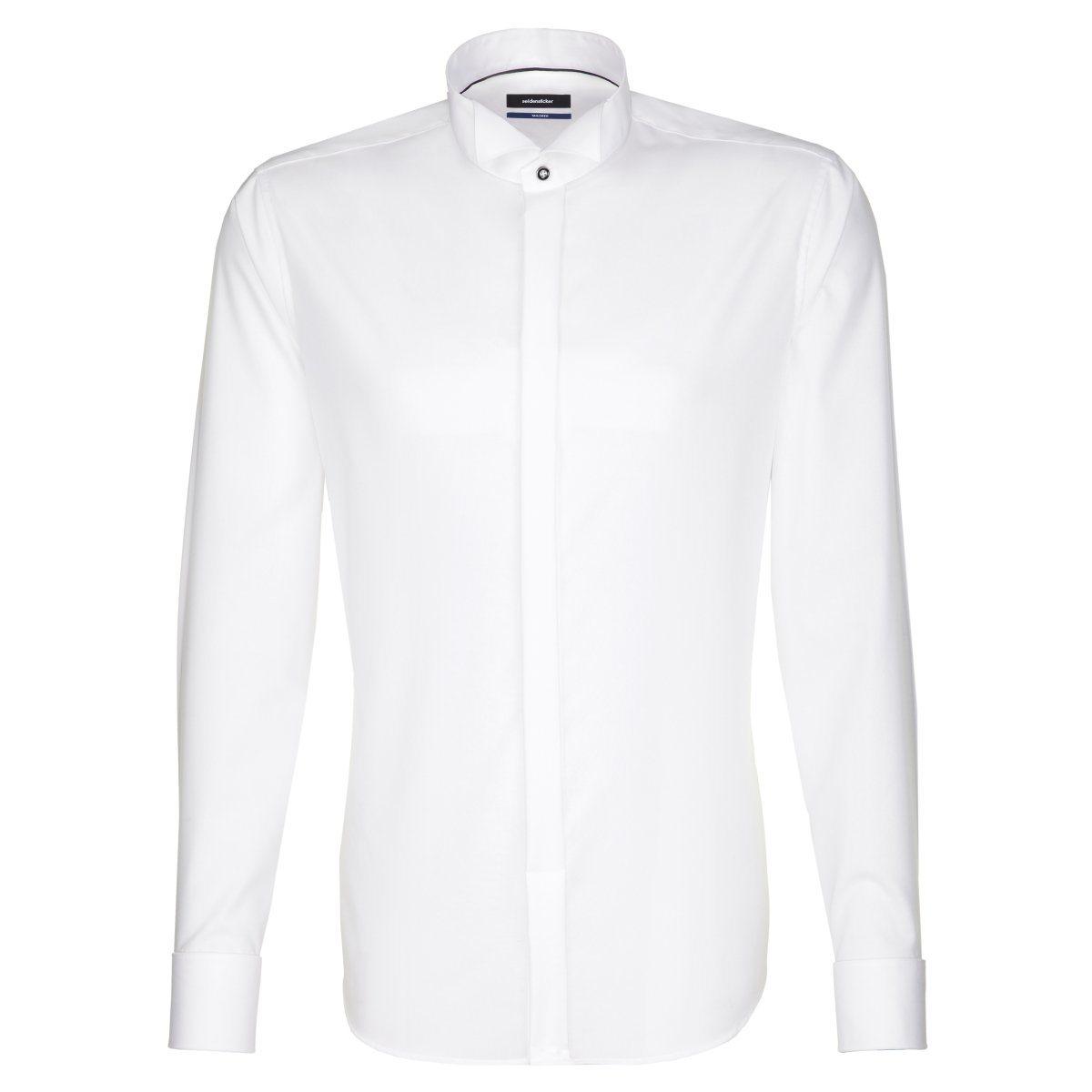 Herren seidensticker Businesshemd Tailored, Kläppchen-Kragen blau, braun, grau, grün, orange, rosa, rot, schwarz, weiß | 04048871494692