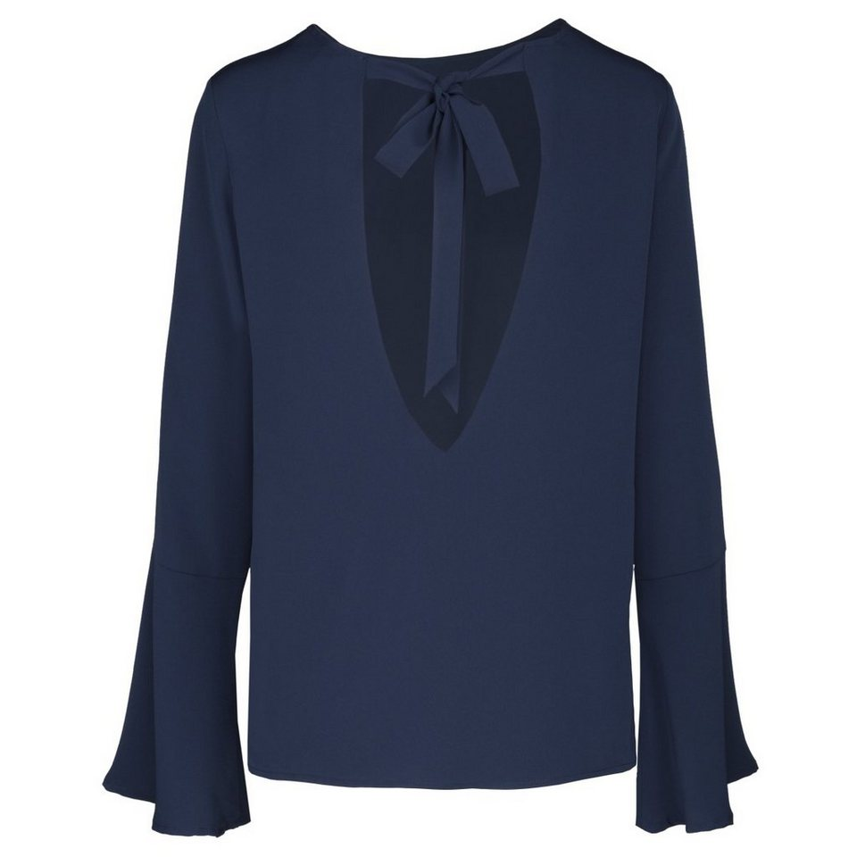 seidensticker klassische bluse schwarze rose krepp online kaufen otto. Black Bedroom Furniture Sets. Home Design Ideas
