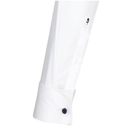 seidensticker Businesshemd Slim, Kläppchen-Kragen