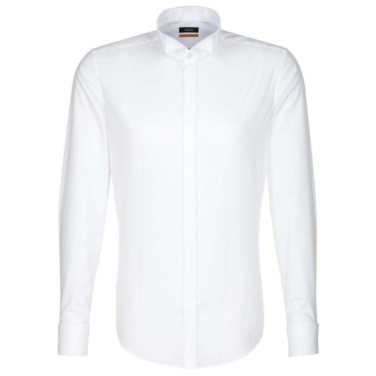 seidensticker Businesshemd »Slim«, Kläppchen-Kragen
