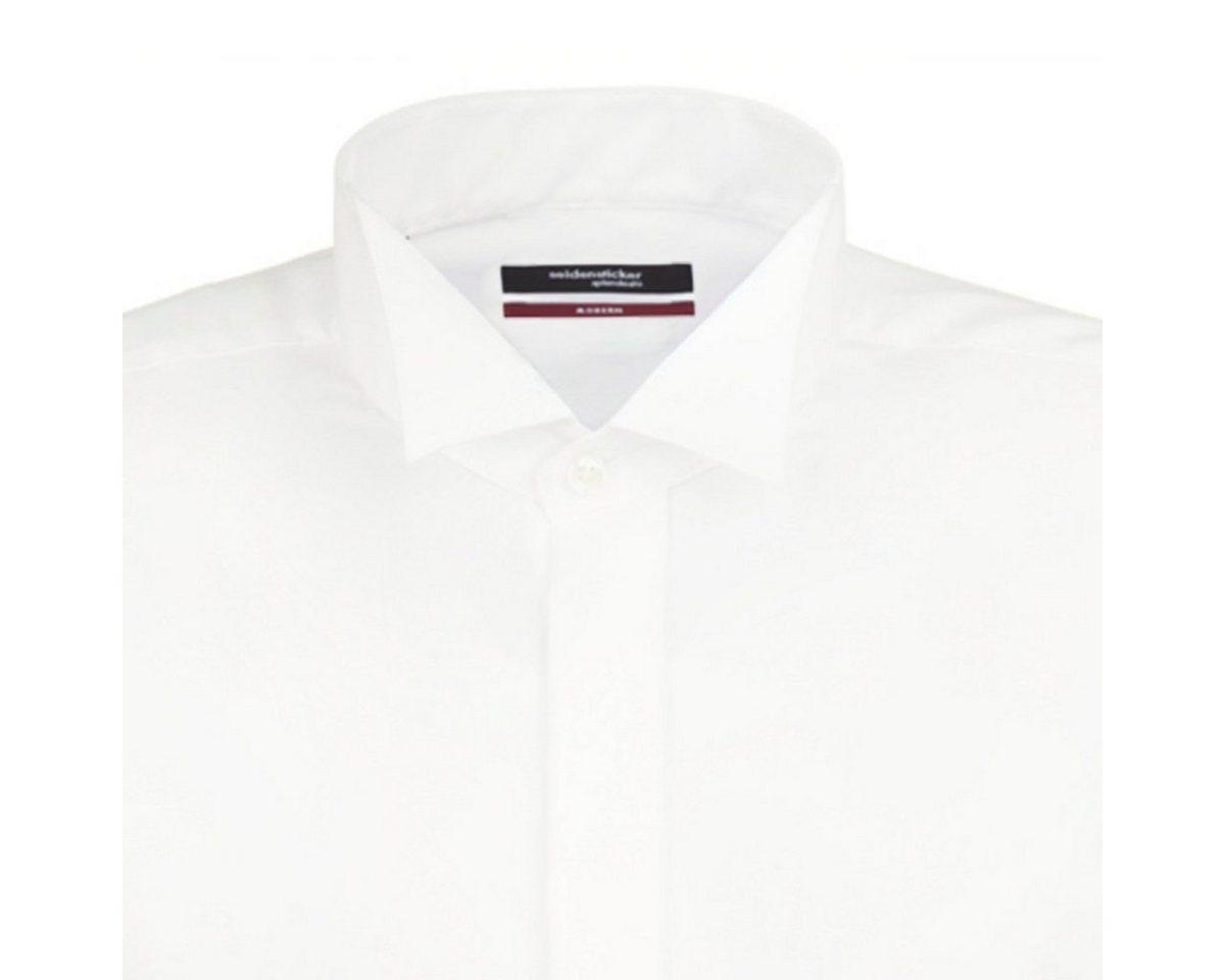 - Herren seidensticker Businesshemd Modern, Kläppchen-Kragen blau, braun, grau, grün, orange, rot, schwarz, weiß | 04030864407598
