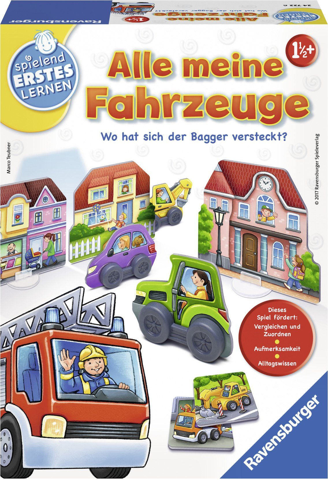 Ravensburger Lernspiel, »Alle meine Fahrzeuge«